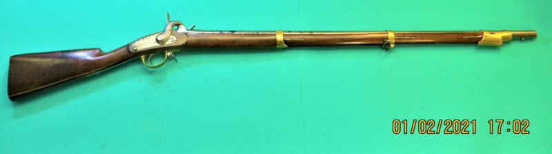 Belge Carabine de Tirailleurs de Vincennes 1837 Img_5927
