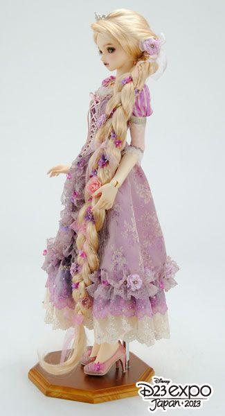 [Super Dollfie X Disney] Princess Collection Rapunzel  159d3910