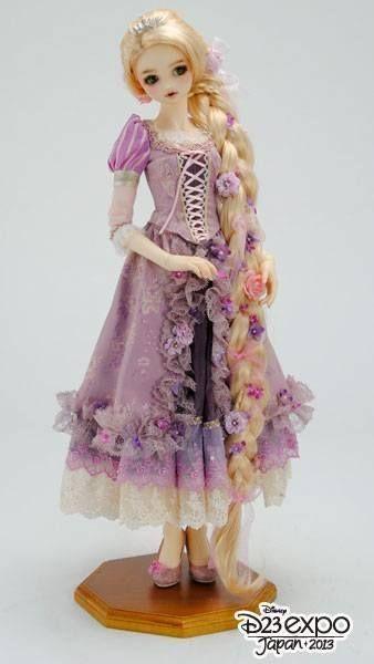 [Super Dollfie X Disney] Princess Collection Rapunzel  F5245e10