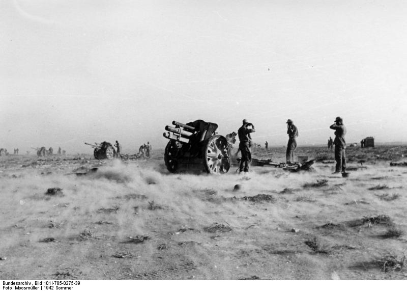2ème bataille d'El-Alamein ... Le début de la fin pour l'Afrika Korps Bundes10