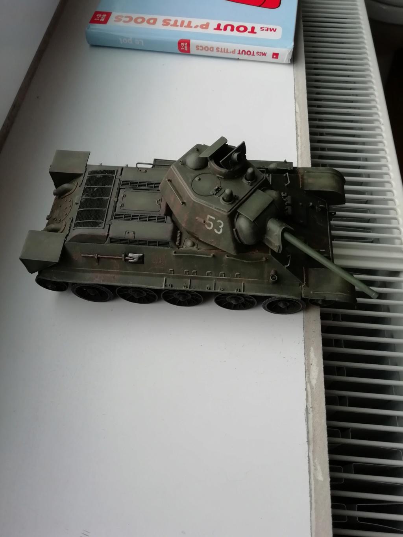 C'est parti ... 1er sujet - Diorama T34/76 E, modèle 1943 Img_2010