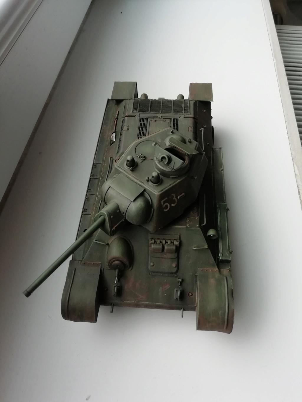C'est parti ... 1er sujet - Diorama T34/76 E, modèle 1943 Img_2013