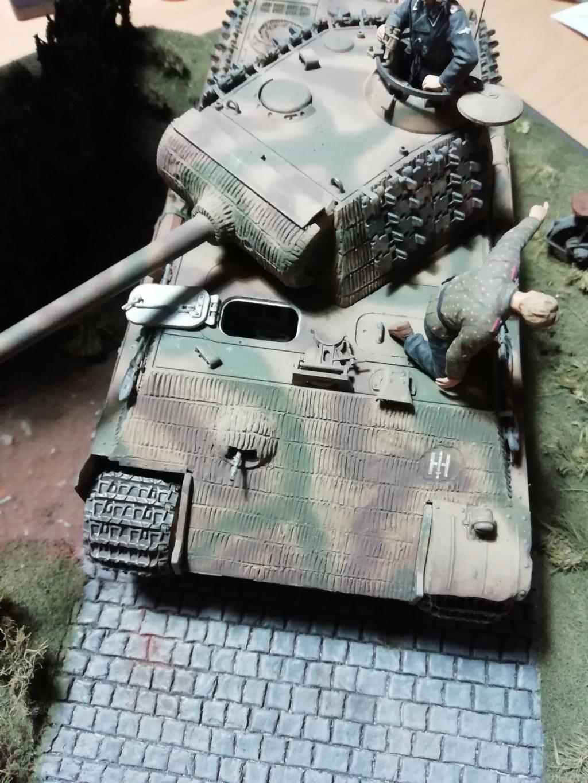 Eté 1944 un Panther  en Normandie -Tamiya- Verlinden- 1/35 - Page 2 Img_2017
