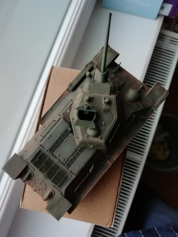 C'est parti ... 1er sujet - Diorama T34/76 E, modèle 1943 Img_2018