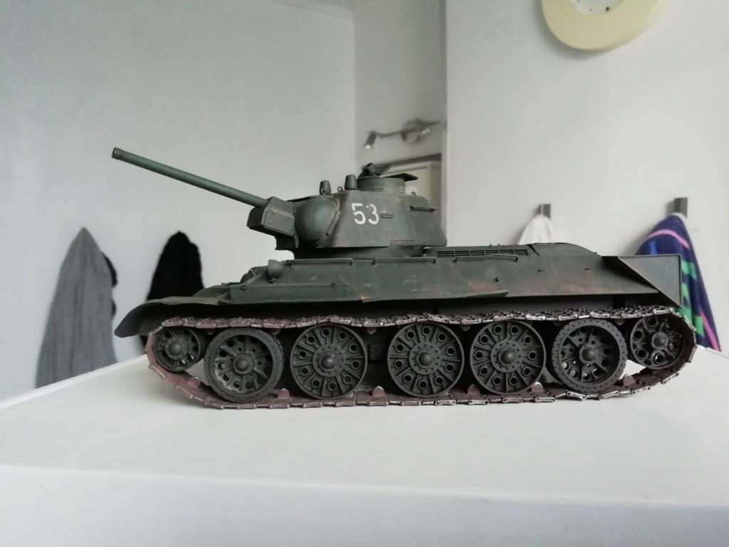 C'est parti ... 1er sujet - Diorama T34/76 E, modèle 1943 Img_2026