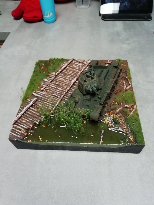 C'est parti ... 1er sujet - Diorama T34/76 E, modèle 1943 - Page 3 Img_2043