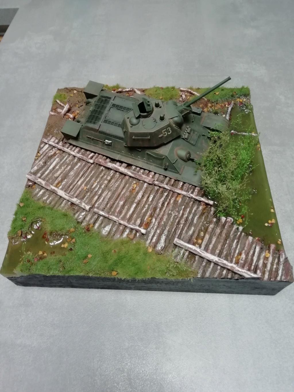 C'est parti ... 1er sujet - Diorama T34/76 E, modèle 1943 - Page 3 Img_2046