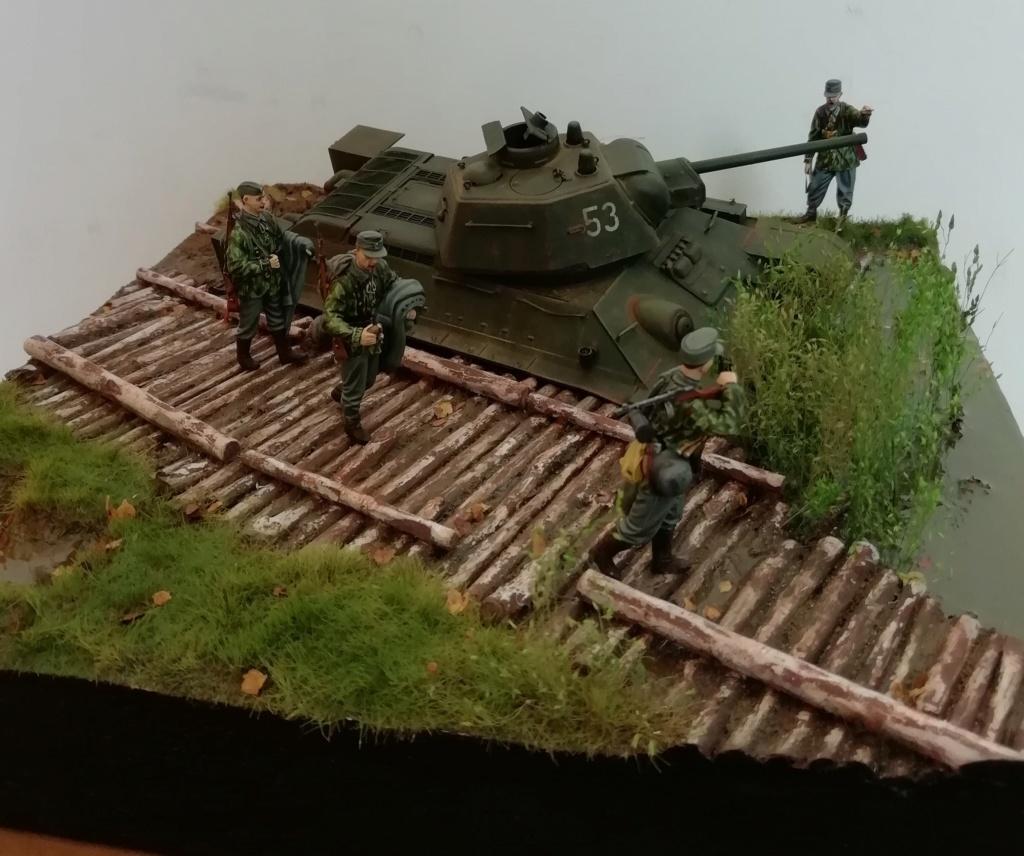 C'est parti ... 1er sujet - Diorama T34/76 E, modèle 1943 - Page 5 Img_2082