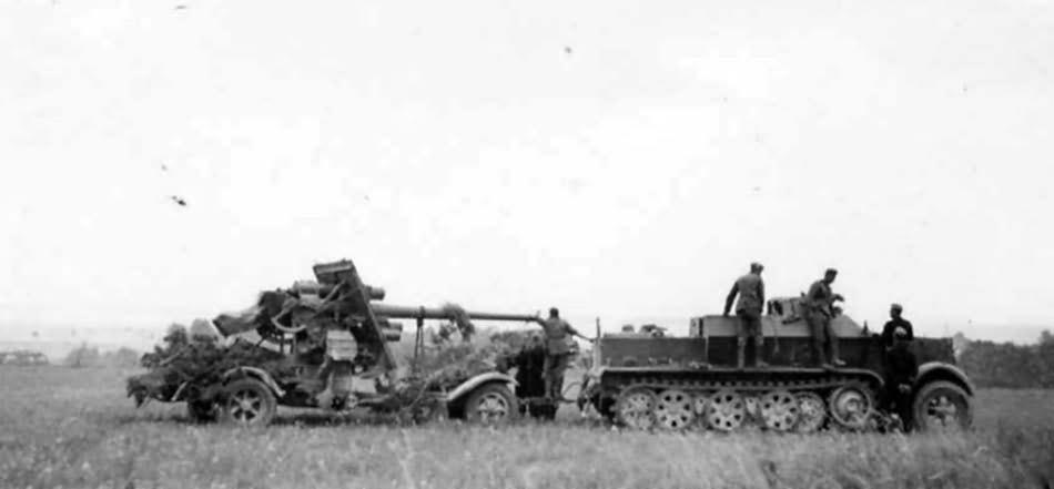 2ème bataille d'El-Alamein ... Le début de la fin pour l'Afrika Korps Sdkfz_11