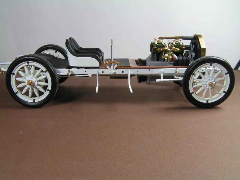 1912 Mercer 35 Raceabout - 1/16th Entex (Bandai) Mercer11