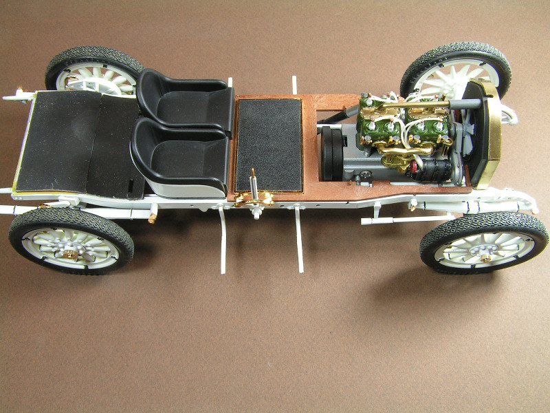 1912 Mercer 35 Raceabout - 1/16th Entex (Bandai) Mercer12