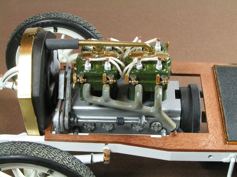 1912 Mercer 35 Raceabout - 1/16th Entex (Bandai) Mercer13