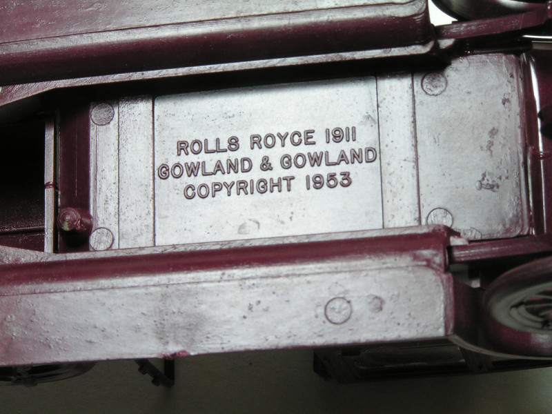 Smer 1/32 Rolls Royce Silver Ghost  Rolls011