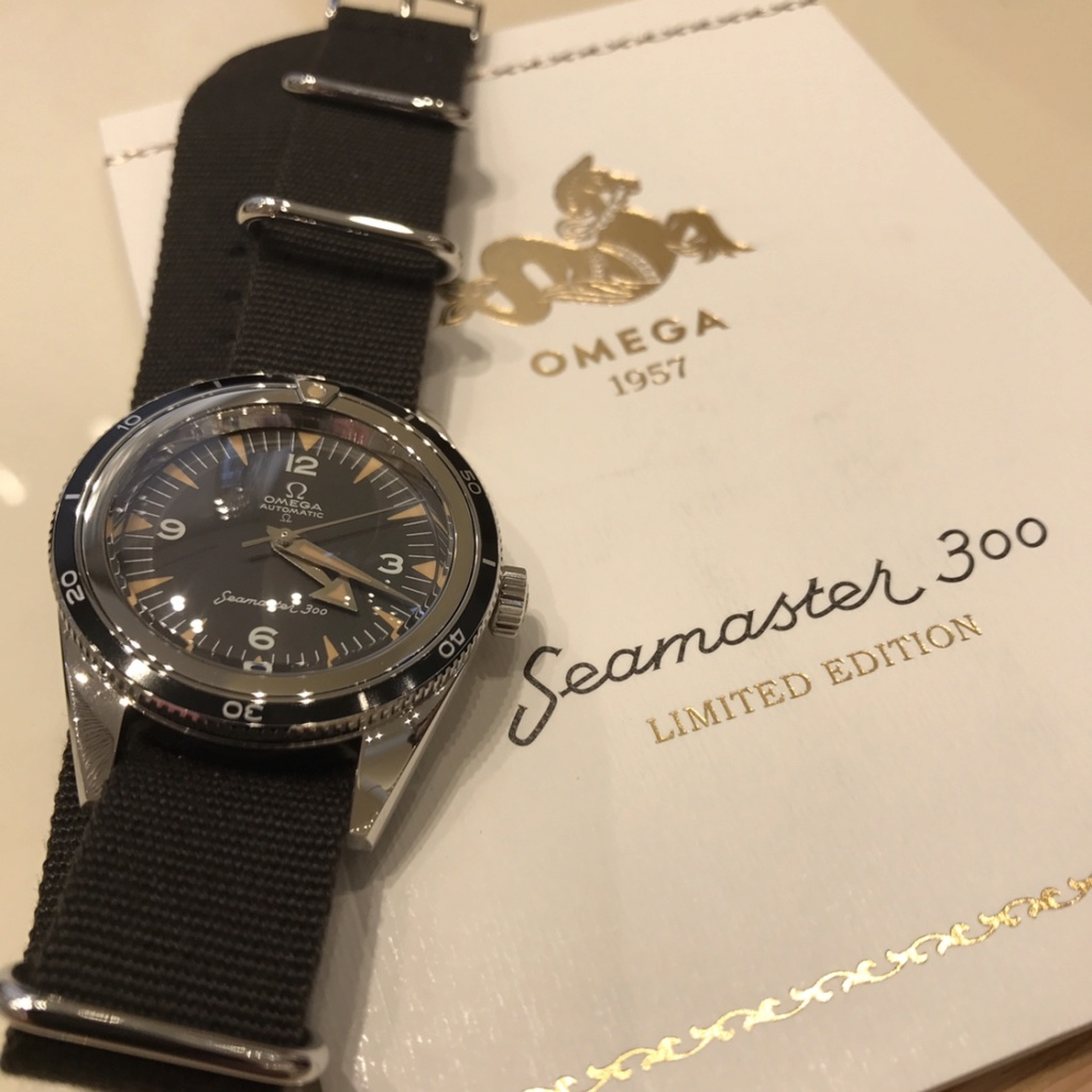 seamaster - [Vendue] Omega seamaster 300 trilogy 42780012