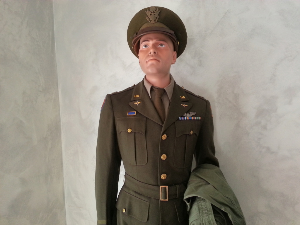 Mannequin Officier USAAF WW2 20200742