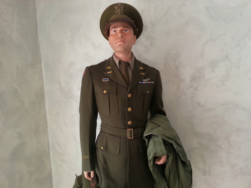 Mannequin Officier USAAF WW2 20200745