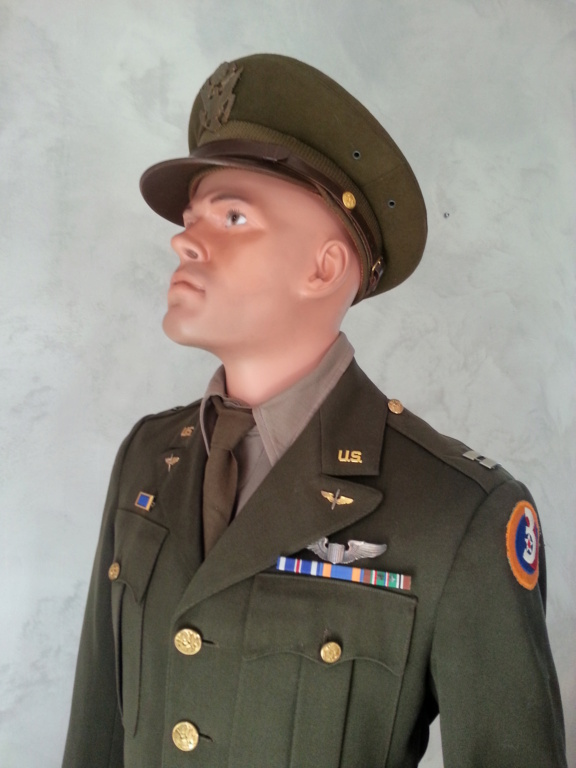 Mannequin Officier USAAF WW2 20200750