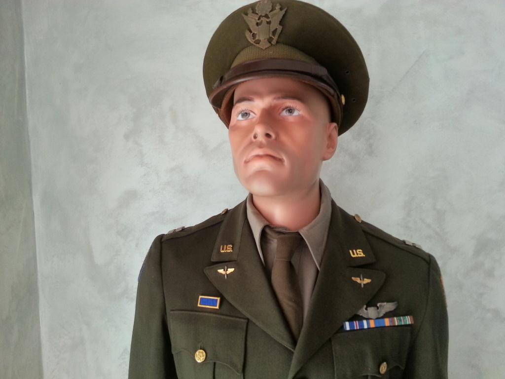 Mannequin Officier USAAF WW2 20200753