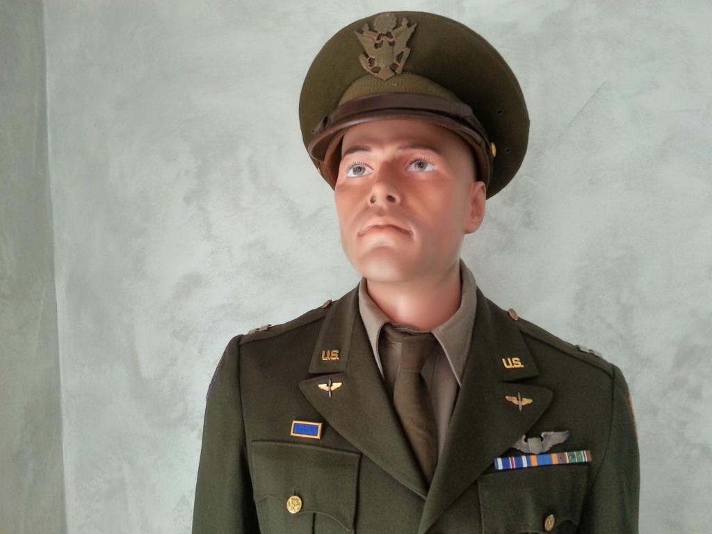 Mannequin Officier USAAF WW2 20200754