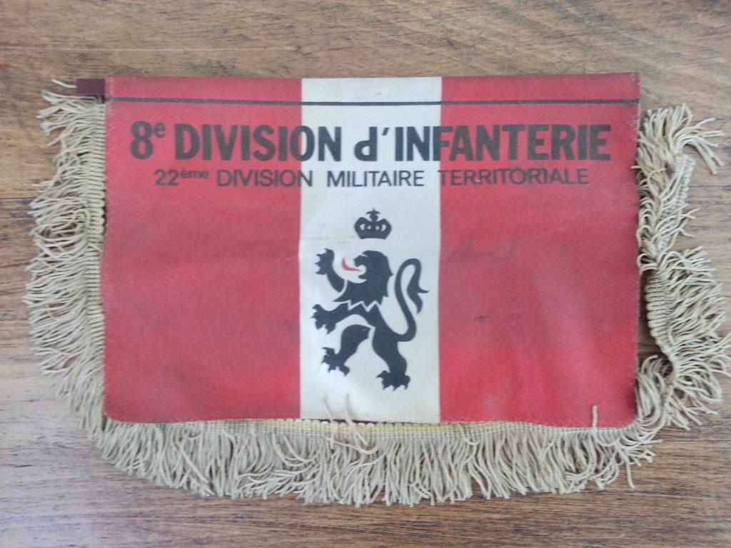 fanion 8ème Division d'Infanterie 20210863
