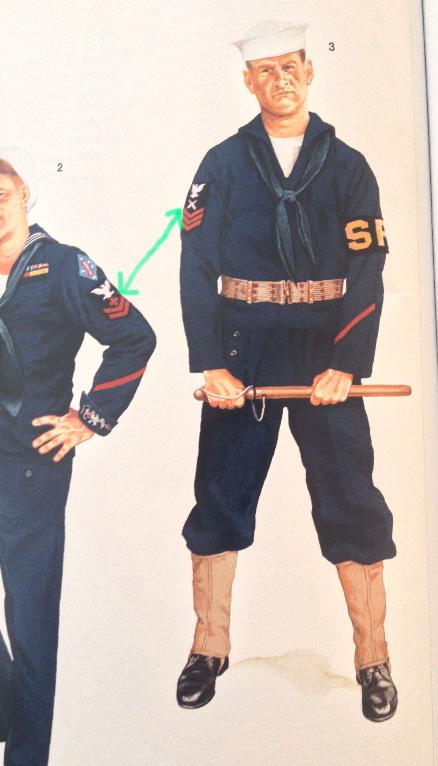 insignes de manche inversés sur jumper navy ww2 pourquoi ? merci Pdf10