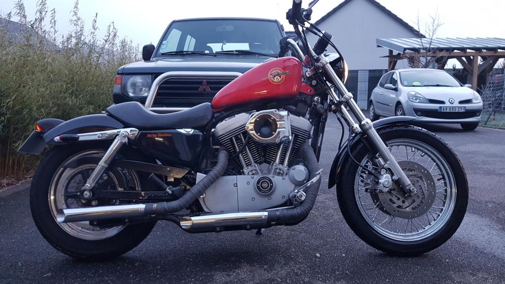 Première Harley - premières modifs 20181212