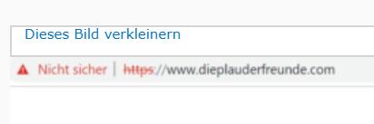 Https freigeschaltet und bekomme nur noch Warnungen vom Browser Nicht_11