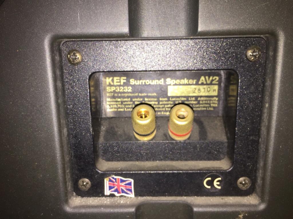 KEF AV 2 Surround Speaker Used Img_4920