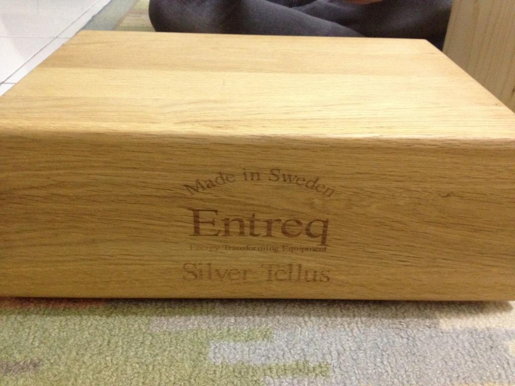 Entreq Silver Tellus Ground Box used Img_5410