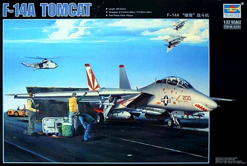 Trumpeter F-14A Tomcat oder auch Lutwaffenkater 1:32 0121