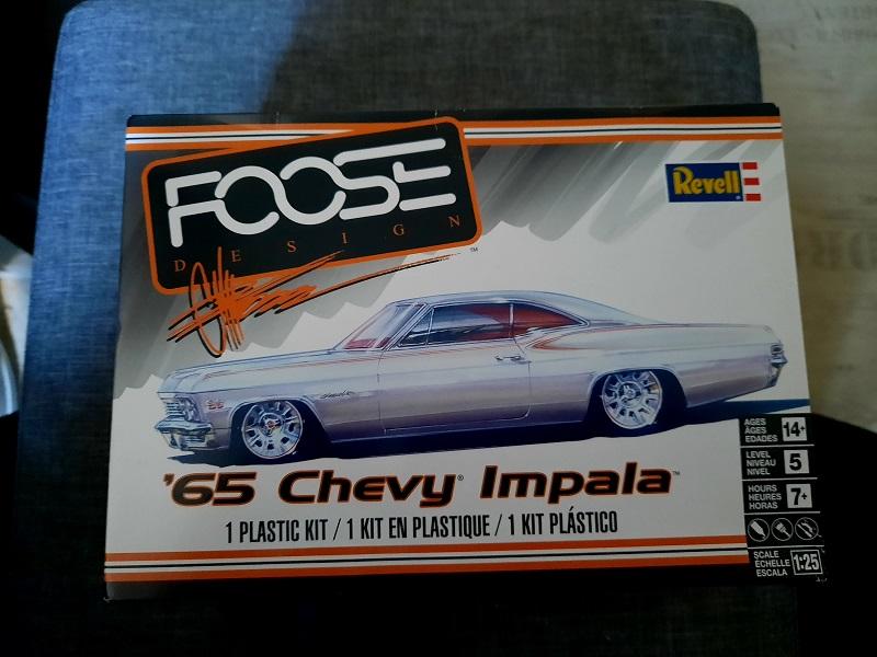 "65' Chevy Impala ""Foose"" / Revell, 1:25 0126"
