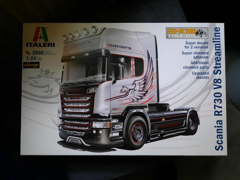 Italeri Scania R730 Custom 1:24 0128