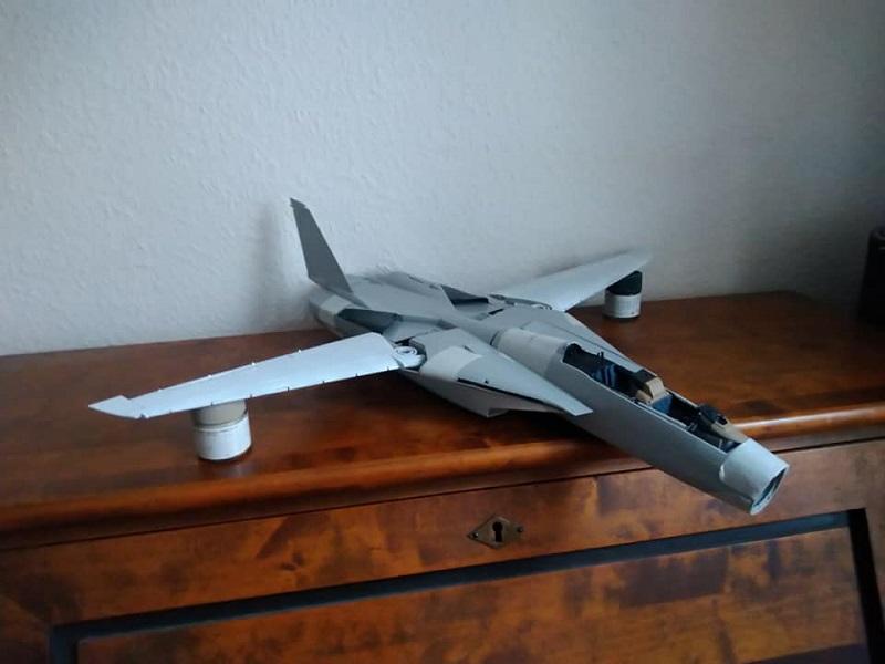 Trumpeter F-14A Tomcat oder auch Lutwaffenkater 1:32 1712