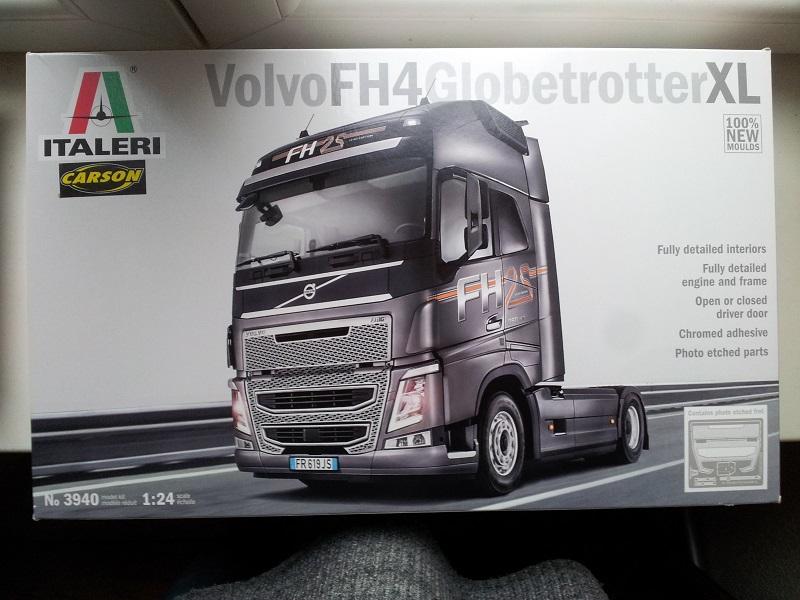 Italeri Volvo FH-4 1:24 20190110