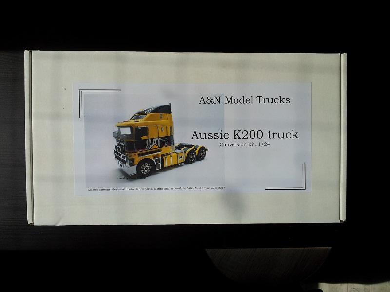 A&N Models Aussie Kenworth K-200 Transkit 1:24 20190510