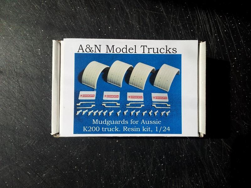 A&N Models Aussie Kenworth K-200 Transkit 1:24 20190523