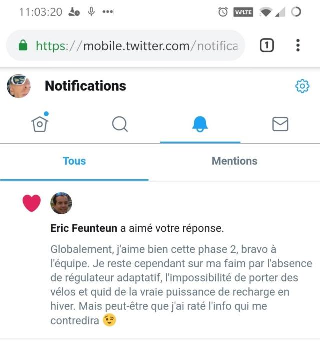 Zoe phase 2 ZE50     - Page 24 Tweet_10