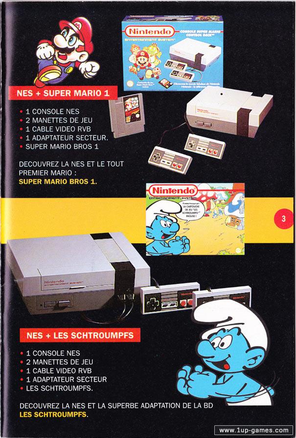 Le mystérieux pack Schtroumpfs Mega Drive - Page 2 Ninten10