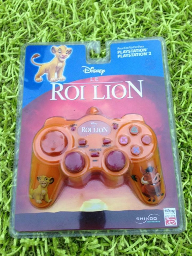 Recherche Pack Playstation 1 sous blister rigide Disney Roi_li10