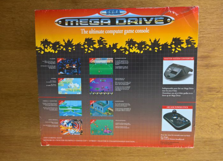 Megadrive 2 Jurassic Park Pack + Sonic Screen14