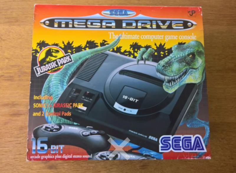 Megadrive 2 Jurassic Park Pack + Sonic Screen15