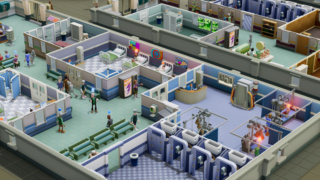 Two Point Hospital arrive !!  Two-po12