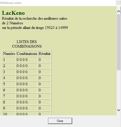 Lac keno - Discussions générales - Comment faire - Page 7 Module12