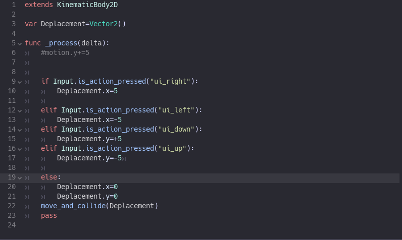 Jeux et notions de programmation Script11