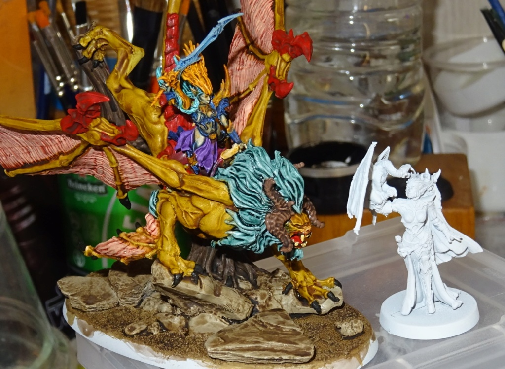 Lady Kashala sur Manticore - Raging Heroes Mantic15