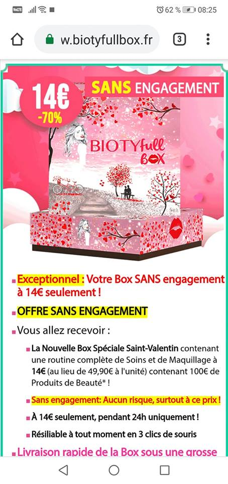 Biotyfull box Février 2019 51644410