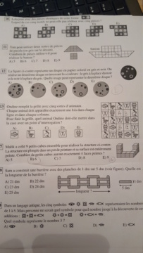 Mathématiques : «Le niveau a dégringolé», assure Cédric Villani - Page 4 20190310