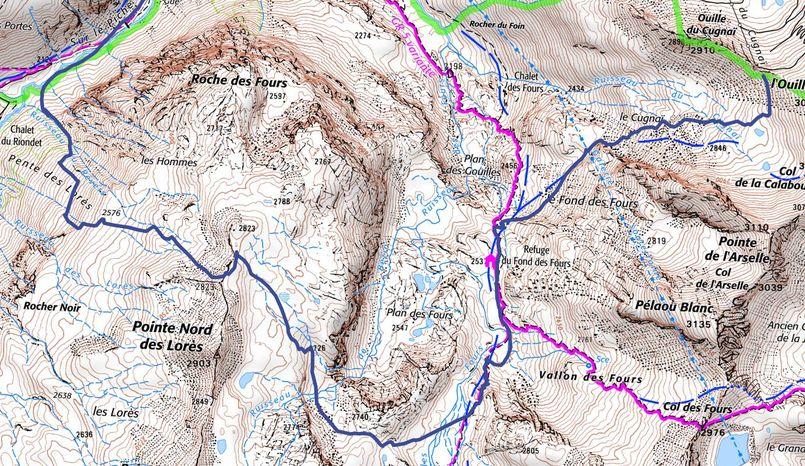Les Pentes de Lorès à Val d'Isère Lores011