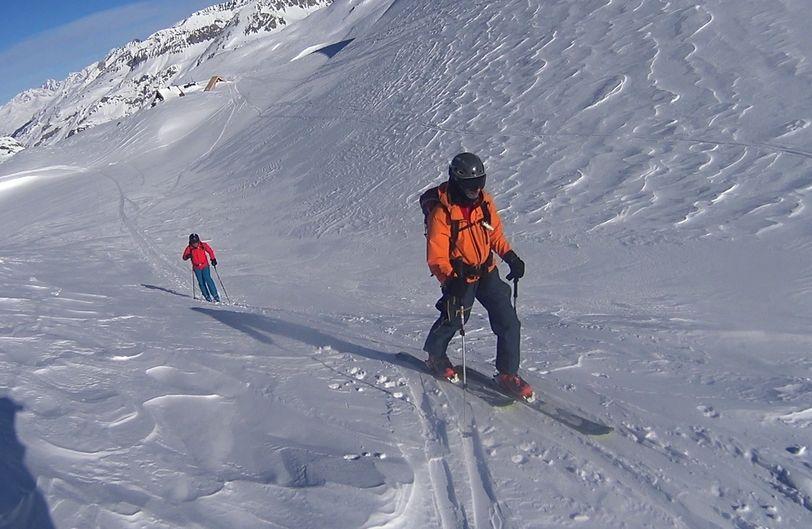 Les Pentes de Lorès à Val d'Isère Lores014