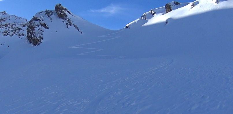 Les Pentes de Lorès à Val d'Isère Lores015